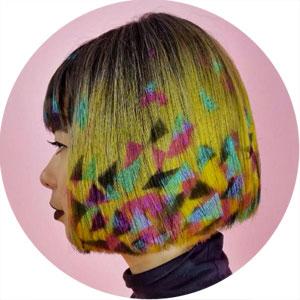 Sintoquim Tendencias Graffiti Hair Color