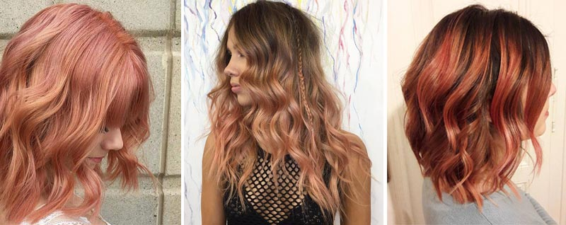 tendencias hair color Blorange