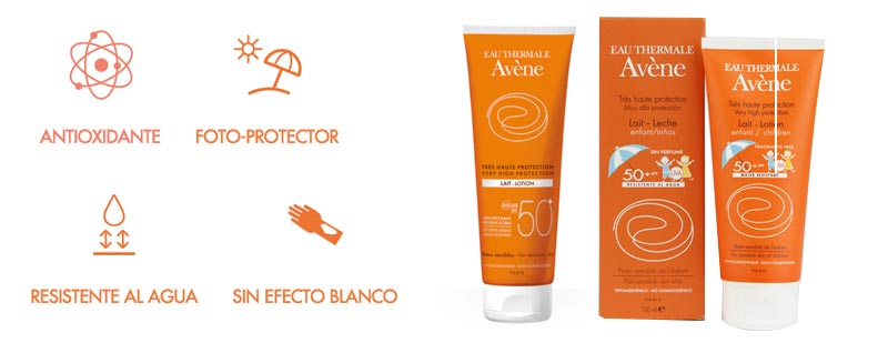Milk Avene Sun Care Sintoquim