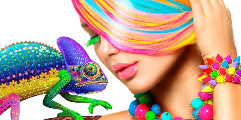 Sintonews hair Color pelo camaleon
