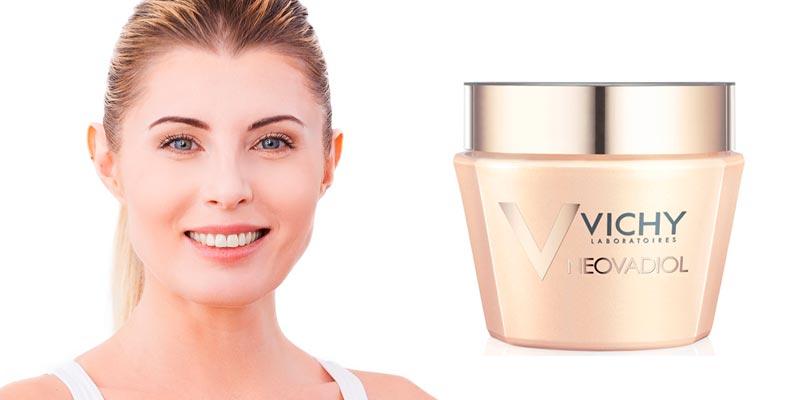 Neovadiol de Vichy: cuidado para la piel que compensa los efectos de la menopausia.