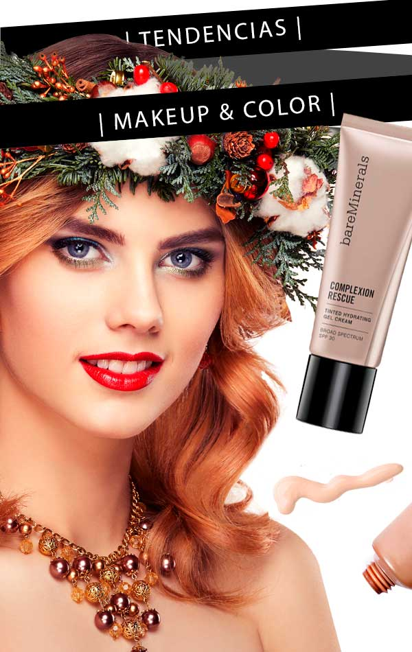 Tendencias de Diciembre Makeup Color