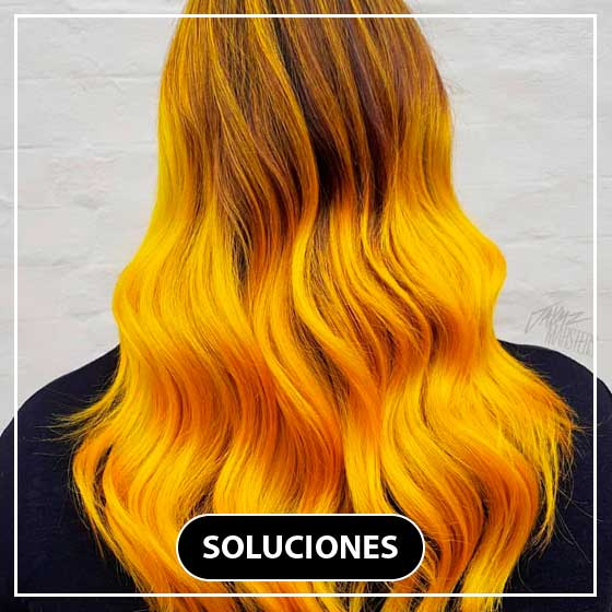 Tendencias febrero hair color mustard hair