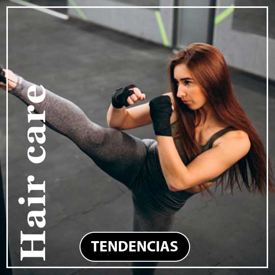 Tendencias hair care shampoo post gym