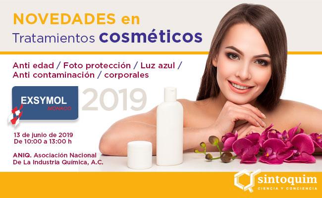 Exsymol Monaco Novedades en tratamientos cosméticos 2019