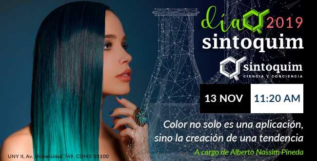 Día Sintoquim 2019 Conferencia Coloración Capilar