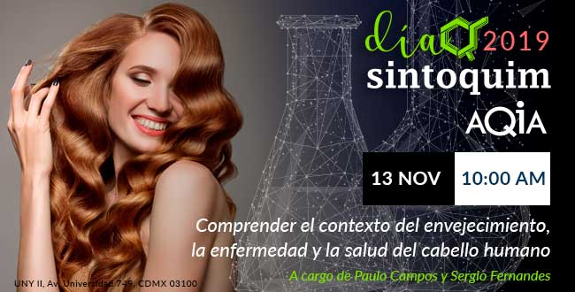 Día Sintoquim 2019 Conferencia AQIA Hair Care