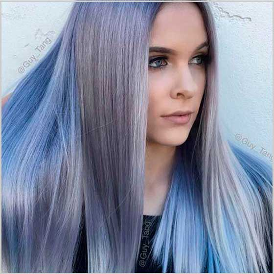 Denim Hair Hair Color Sintoquim