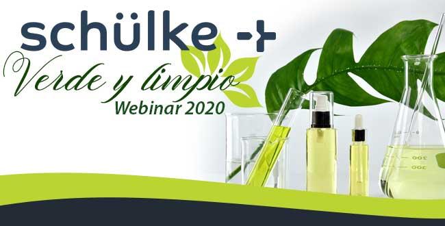 Webinar Schülke Verde y Limpio 2020