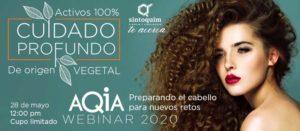 Webinar AQIA Activos 100% vegetales para cuidado profundo
