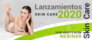 Webinar Lanzamientos Skin Care 2020