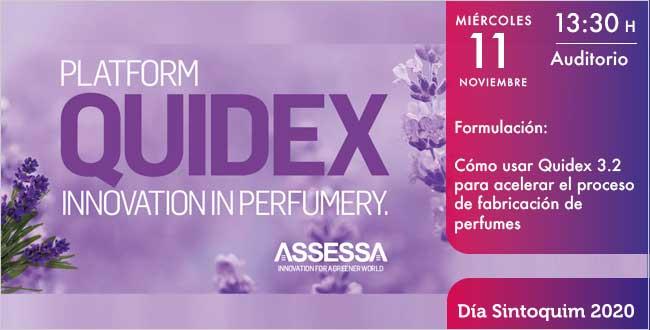 Asessa Quidex 3.2 Día Sintoquim 2020