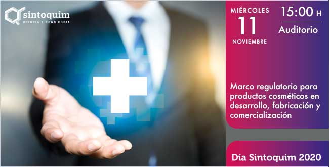 Marco regulatorio productos cosméticos Día Sintoquim 2020
