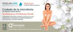 WEBINAR Roelmi 2021 Cuidado de la Microbiota