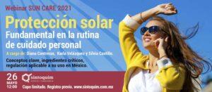 Webinar Protección Solar 2021