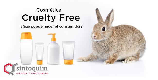 Productos cosméticos cruelty free