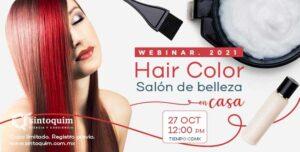 Hair Color Webinar Salón de Belleza en casa
